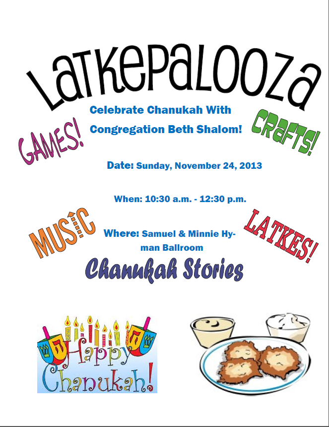 Join Us For Latkepalooza