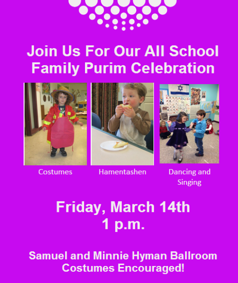 Join Us For Purim